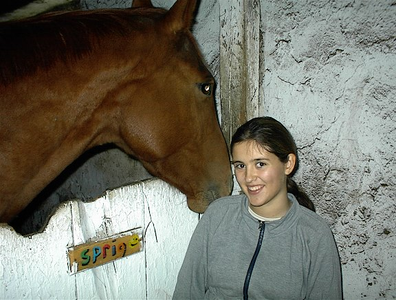 me with a cute horsie